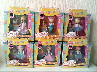 Mooshka Set Of 6 Fairy Tales Dolls Brand New Boxed Official