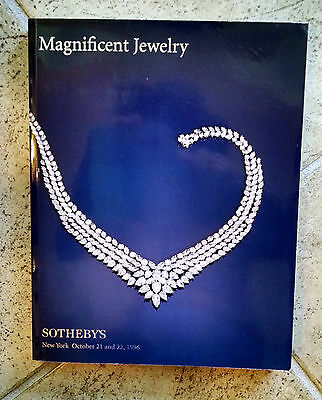 1996 Sotheby's Auction Catalog – Magnificent Jewelry