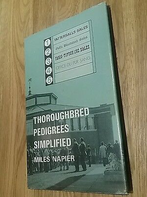 Thoroughbred pedigrees simplified/miles napier