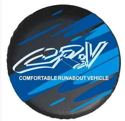 For HONDA CR-V Spare Wheel Tire Cover Fit Size 27""