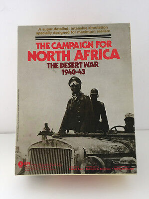 The Campaign For North Africa War Combat Game SPI UNUSED UNPUNCHED - FREE UK P&P