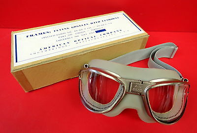 American Optical An-6530 Flying Goggles Mint In The Box
