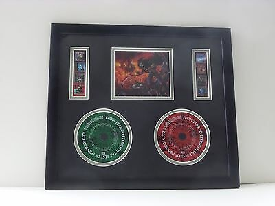 IRON MAIDEN – From Fear to Eternity 2 disc CD best 1990-2010 FRAMED PRESENTATION
