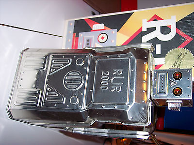 MIB Ltd. Edition Bare RUR 2000 Rocket USA Battery Operated Tin  Robot with COA