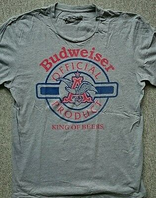 BUDWEISER : Shirt aus USA in L