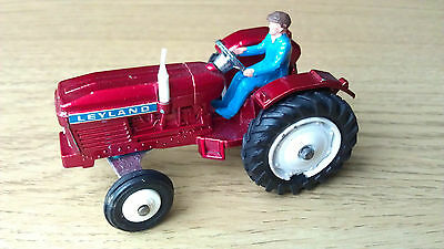Red Meccano Dinky 308 Leyland Tractor great condition never used, driver intact