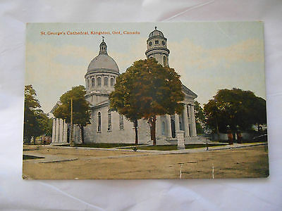 Vintage Postcard - ST. GEORGE'S CATHEDRAL, KINGSTON, ONTARIO, CANADA