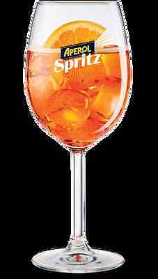 Aperol Spritz Wine Glasses (Set of 2)