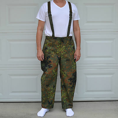 New German Feuchter, Ringelai Fly Fishing Pants Trousers Camo