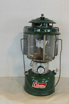 Coleman Usa Model 220F Lantern With Reflector October 1972