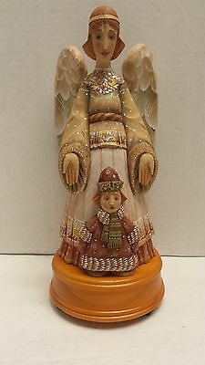 "G. Debrekht Artistic Studios ""Bless the Child Angel"" Musical Guardian Series EUC"