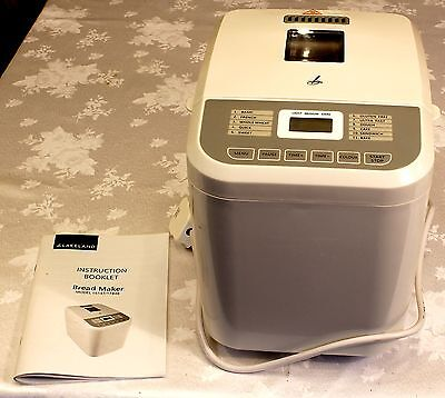 Bread Maker -  Lakeland White Compact 1 LB Daily Loaf bread maker