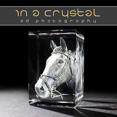 3D Laser Engraved Crystal // Your Photo Picture In Crystal // Canvas Printing