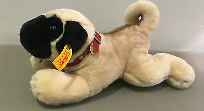 Steiff Collectors Pug Puppy F.O.A Schwarz Kennel Club Collection