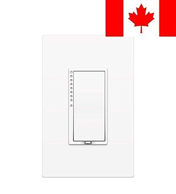 INSTEON SwitchLinc Dimmer Switch - Programmable Fade, White