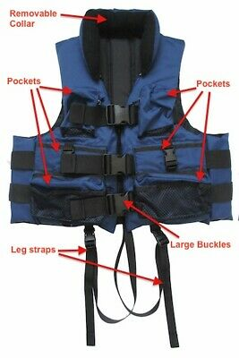 Life Jacket for Fishermen and General Boating - XX-Large