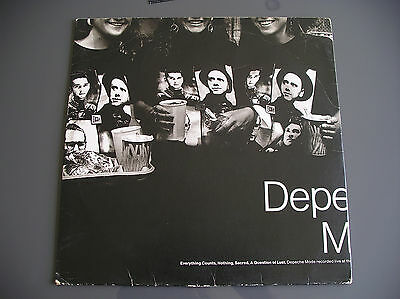 """DEPECHE MODE - Everything Counts (LIVE) 12"""" ep Vinyl Electronic, Synth Pop"""