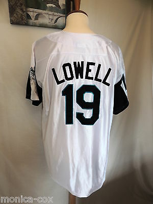 Florida Marlins-Vintage Baseball Jersey Number 19- Lowell Xl Size Good Condition