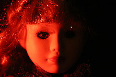 Haunted Spirited Doll. Witch Spirit attached to this vessel. Paranormal.