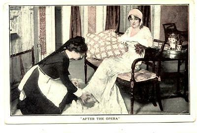 BOUGHT AND PAID FOR Post-Broadway Tour 1913 Advertising Postcard Julia Dean
