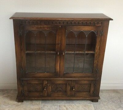 Superb Oak Bevan Funnell Lowline Bookcase Reprodux DELIVERY AVAILABLE