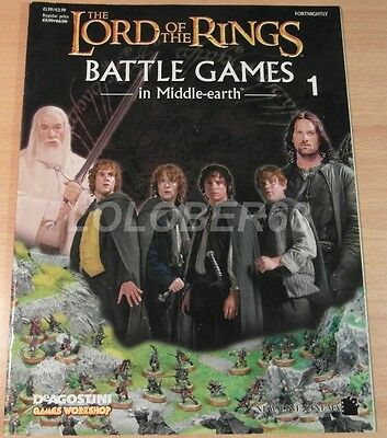 LORD OF THE RINGS Battle Games in Middle-earth Magazine Issue 1