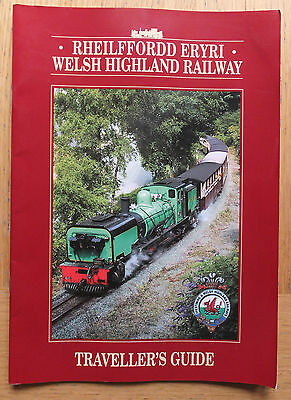 Welsh Highland Railway - Travellers Guide (PB, 2002 edition)