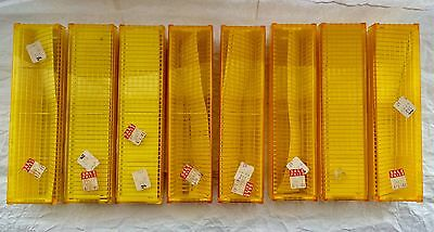 8 Vintage Universal-Forty Slide Magazines, All With Lids & Indexes.