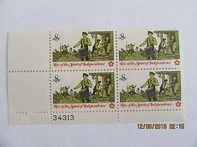 US #1479 MNH PB4 Drummer and Soldiers 34313