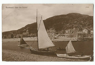 Wales Barmouth 2 Real Photo Vintage Postcards