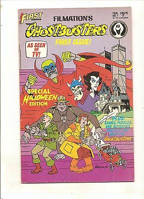 First Comics    Filmations Ghostbusters #1 Special Halloween Edition