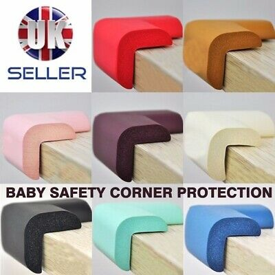 4 x Baby Safety Corner Protection Desk Corner Protection Edge Guard Protectors