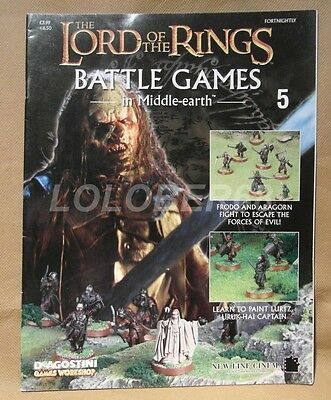 LORD OF THE RINGS Battle Games in Middle-earth Magazine Issue 5