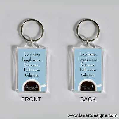 Gilmore Girls: A Year In The Life - Lauren Graham - Alexis Bledel -  Keychain #5