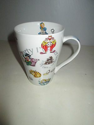 Alice In Wonderland Most Curious Tea Party 15 Oz  Bone China Mug Cup Paul Cardew