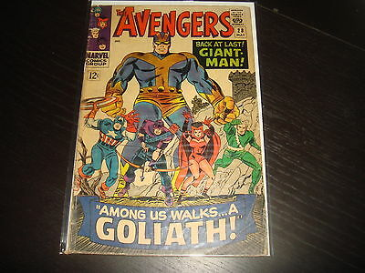 THE AVENGERS #28  Silver Age 1st Collector  Marvel Comics 1966  VG-