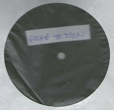 """JAH D going to zion 12"""" TUFF  ROOTS DUBPLATE"""