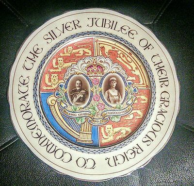 1935 Paragon silver jubilee plate