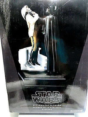 "Star Wars Sideshow Diplomatic Mission Diorama 12""  Only Box !!! Nur Karton !!!"