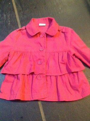 Gorgeous Pink Tiered Jacket 3-4 Yrs NEXT