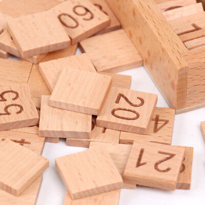 Wooden Montessori Early Educational Material Set - 1-100 Consecutive Numbers
