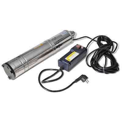New Submersible Bore Water Pump Deep Well Irrigation 1100W 102m Stainless Steel
