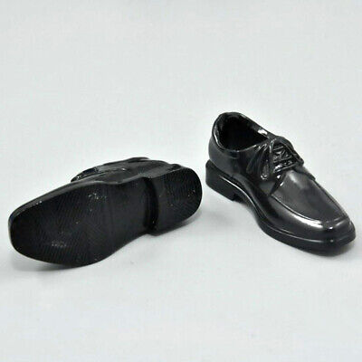 12 inch Male Action Figure Toys Fashion Accs Black Lace Up Shoes 1/6 Scale