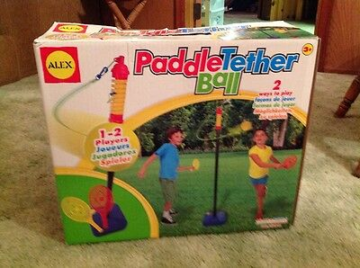 Kids Paddle Tether Ball by Alex Toys PORTABLE & EASY ASSEMBLY