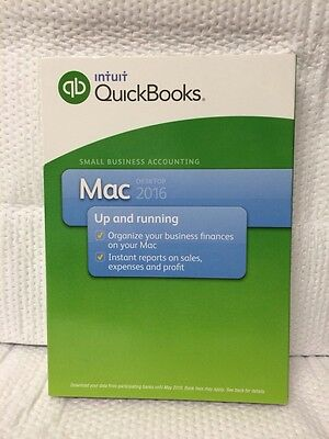 Intuit Quickbooks Small Business Accounting New Seal Mac Desktop 2016