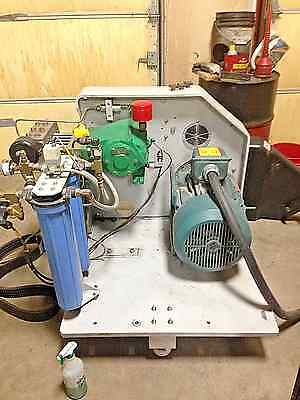 Flow waterjet 30 hp Hyplex intensifier pump great condition ***Make OFFER***