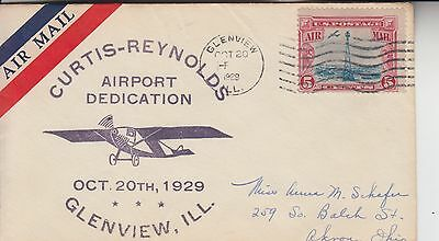 1929 Glenview Il Curtis-Reynolds Airport Dedication