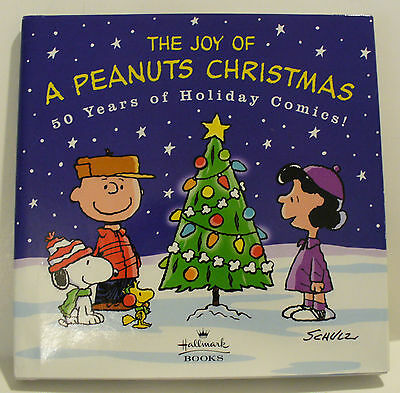 2000 Hallmark The Joy Of A Peanuts Christmas 50 Years Of Holiday Comics Book