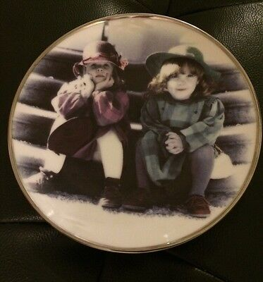"Popular Photographer Kim Anderson ""We're Two Of A Kind"" Decorative  Plate 42,870"