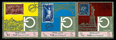 YEMEN. Y.A.R. PHILYMPIA LONDON 1970. Canceled  (BI#38)